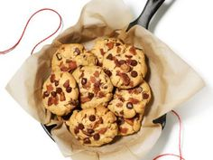Peanut Butter-Chocolate Chip-Bacon Cookies Recipe : Food Network Kitchen : Food Network