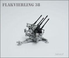 Flakvierling 38   by Jakeof_