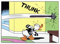 """THUNK   """"Trick or Treat"""" (1952) by Carl Barks"""