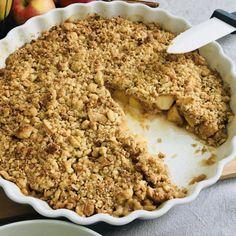 Recept: Fantasztikusan ropogós almás crumble tojás- és cukormentesen | Stop Sugar Krispie Treats, Rice Krispies, Healthy Sweets, Oatmeal, Sugar, Breakfast, Desserts, Food, The Oatmeal