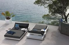 Liegen Daybeds Outdoor Couches Elements Designer Gerd Couckhuyt