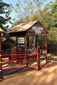Folsom Park - Wild West-Themed Playground