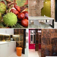 Biurowe meble  nie muszą być nudne. Biuro w kolorach jesieni. #autumn #interiors #furniture #modernoffice #design #meble #biuro #Inspiration #natura #office #meblenawymiar #beatyful #coulors Projekt: Grupa Żoliborz; foto. M. Tryc