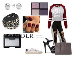 """""""DLRBOUTIQUE.COM"""" by ice87 ❤ liked on Polyvore featuring WithChic, Yves Saint Laurent, Jewelonfire, Tom Ford and NARS Cosmetics"""