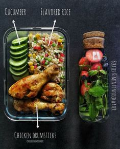 Anyone have meal prep goals for this weekend? Tag a friend that could use more meal prep recipe ideas like this! In my opinion this… Healthy Food Delivery, Healthy Meal Prep, Healthy Snacks, Healthy Eating, Healthy Recipes, Free Recipes, Healthy Drinks, Prepped Lunches, Lunch Meal Prep