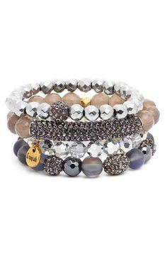 Erimish Beaded Bracelets (Set of 4)