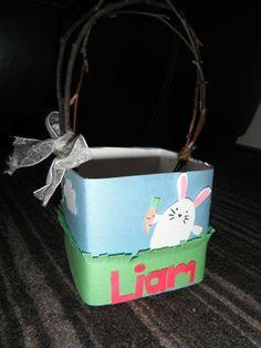 Homemade Easter Basket