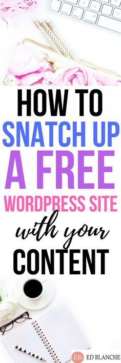 FREE Wordpress site with your content! Don't miss this deal-A Must See! Make More Money, Make Money Blogging, Blogging Ideas, Make Blog, How To Start A Blog, Blog Names, Blog Topics, Blogger Tips, Blog Writing