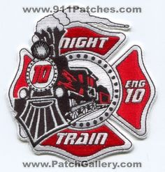 Woodstock Fire Department Engine 10 Patch Georgia GA