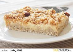 vločkový koláč s jablky Healthy Cake, Healthy Sweets, Low Carb Recipes, Cooking Recipes, Low Cholesterol Diet, Valspar, Sweet Recipes, Banana Bread, Macaroni And Cheese