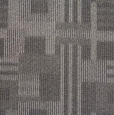 "Flor Magnitude Channel Styling 100 % Nylon 19.7"" x 19.7"" Carpet Tile Squares www.iCarpetiles.com"