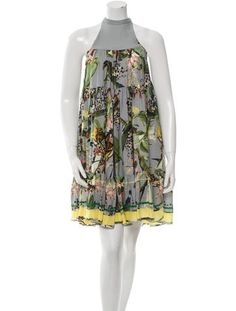 Erdem Silk Printed Dress