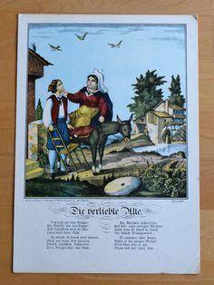 Die verliebte Alte - Karikatur Humor - Druck 70er Jahre Reproduktion Art Print Humor, Painting, Ebay, In Love, Art Print, Printing, Pictures, Humour, Painting Art