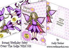 Sweet Birthday Fairy Over The Edge Mini Kit