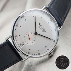 """983 Likes, 7 Comments - FratelloWatches (@fratellowatches) on Instagram: """"Nomos Metro! #nomos #metro"""""""