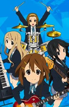 [Anime] K-ON! - This is a stellar anime about a group of high school girls who decide to form a band. An easy-going, slice-of-life piece, this is definitely worth watching if you want to see something light, fluffy and fun.