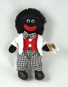 """'Louis' Golliwog gollywog golly Doll Toy 12"""" 30cm NEW picclick.com"""