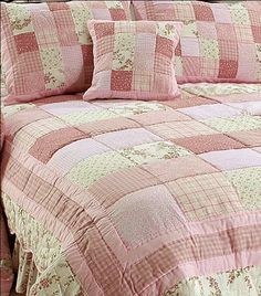 English Rose Quilt & Bedding by Victorian Heart