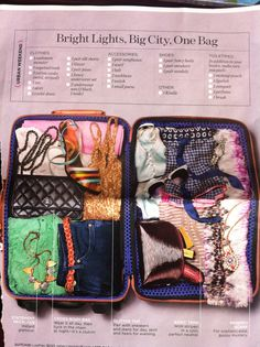 packing tips // one day I should actually follow these...