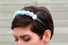 DIY Pom Pom headband