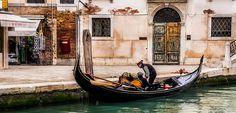 Wintery Gondola Ride in Venice by Joanne  on 500px