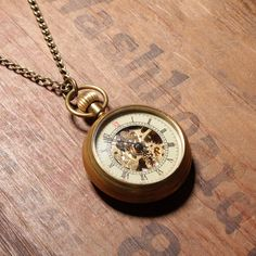 Pocketwatch Necklace by We Are All Smith