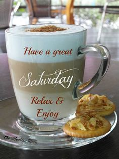 have a great saturday...