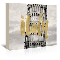 East Urban Home Italy Pisa by Amy Brinkman Graphic Art on Wrapped Canvas Size: