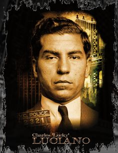 Charles 'Lucky' Luciano T-Shirt