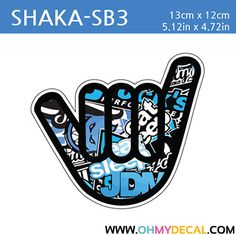 [ Shaka - SB3 ] STICKER BOMB SERIES