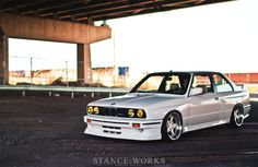 Stance Works - George Voutsinos's BMW E30 M3
