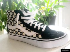 8895bda2c2 Authentic Vans Supreme Checkers size 9 New in Box with a receipt