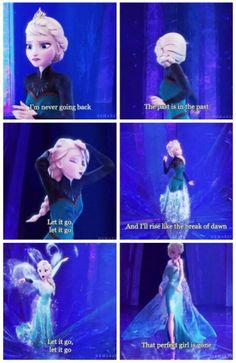 Frozen. Let it go