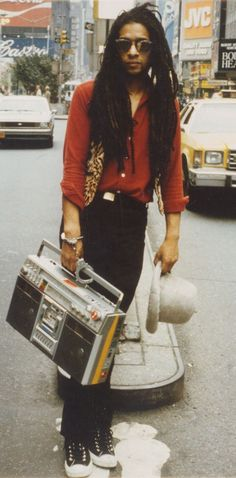 Don Letts in 80s NYC