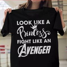 Look like a princess fight like an avenger