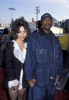 Rosie & Pac .. i love rosie perez .. that accent ..
