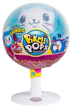 Pikmi Pops Large Pack Bunny Plush Collectible, x x Toys & Games Fluffy Bunny, Bunny Plush, Bunny Toys, Toys For Girls, Kids Toys, Pet Toys, Big Lollipops, Cute Surprises, Unicorn Rooms