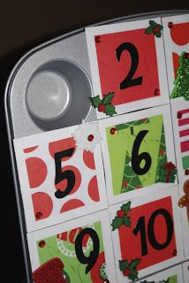 Laffty Crafty: Muffin Tin Advent Calendar **How To**