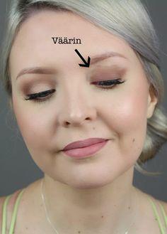 Kymmenen meikkimokaa luomivärin kanssa