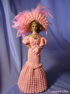 Crochet Barbie Patterns, Crochet Barbie Clothes, Doll Patterns, Ken Doll, Barbie Dolls, Barbie Collection, Barbie And Ken, American Girl, Bridal Gowns
