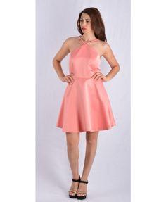 Μίνι τούλιπ φόρεμα, με καλοσχεδιασμένο μπούστο, τιραντάκια και έξω την πλάτη. Σε καλοκαιρινό ρόζ της πούδρας χρωματισμό, κατάλληλο για επίσημες εμφανίσεις. Κατασκευασμένο στην Ελλάδα απο 100 % πολυεστέρα. Mini Dresses, Fashion, Moda, Fashion Styles, Fashion Illustrations, Short Dresses