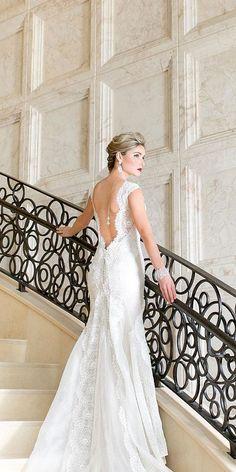 lace vintage wedding dresses 1