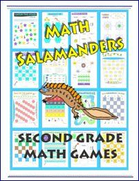 Here you will find our selection of Grade Math Games including place value games and math fact games. 2nd Grade Math Games, 2nd Grade Math Worksheets, Printable Math Worksheets, Fun Math Games, Second Grade Math, Place Value Games, Infant Classroom, Salamanders, Reading Games