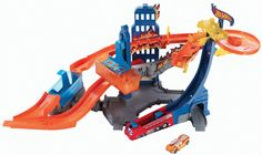 Hot Wheels at Kohl's - Shop our wide selection of boys' toys, including this Hot Wheels Color Shifters Flame Fighters Track Set by Mattel, at Kohl's. Toys For Boys, Kids Toys, Mattel Shop, Dunk Tank, Toys R Us Canada, Car Colors, Hot Wheels Cars, Monster High Dolls, Change
