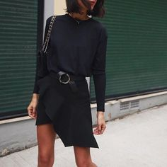 All black summer look | style | streetstyle | summer fashion | summer look | summer outfit