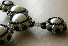 Schema - Covered Beads. #Seed #Bead #Tutorials by botezatu.mitica