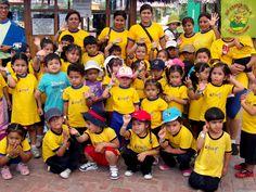 Nuestros amigos de C.E. Las Huellitas del Saber