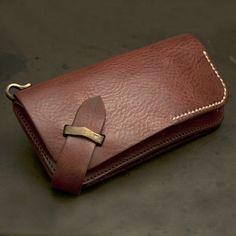 Хару [Italian] плечо старинные обработка Длинный кошелек [HC-522]   Ikenohata серебро кожаный салон