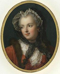 Мария-Виктуар Жакото Портрет королевы Франции, супруги короля Людовика XV, Марии Лещинской