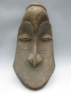African Art Hemba Monkey Mask | eBay